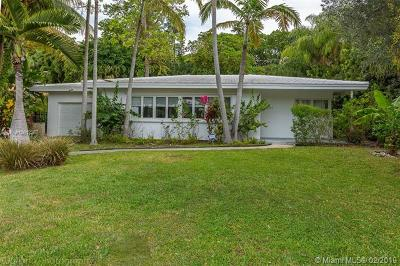 Coconut Grove Single Family Home For Sale: 3711 Battersea Rd