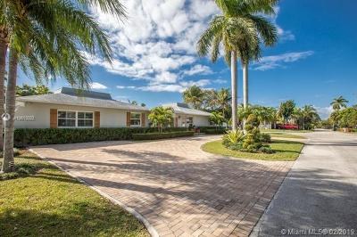 South Miami Single Family Home For Sale: 5850 SW 56th Ter