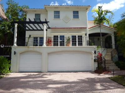 Coconut Grove Single Family Home For Sale: 3515 E Fairview St