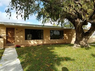 South Miami Single Family Home For Sale: 6030 SW 62nd Place