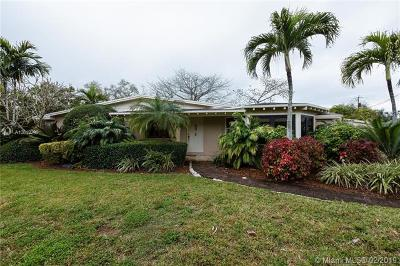 Pinecrest Single Family Home For Sale: 12940 SW 80th Ave