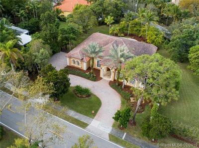Pinecrest Single Family Home For Sale: 9300 SW 72nd Avenue
