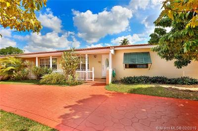 South Miami Single Family Home For Sale: 5961 SW 63rd Ct