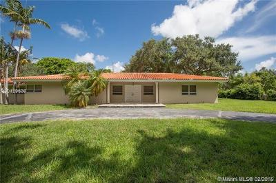 Coral Gables Single Family Home For Sale: 601 Sunset Rd