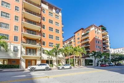 Coral Gables Condo/Townhouse For Sale: 100 Andalusia #401