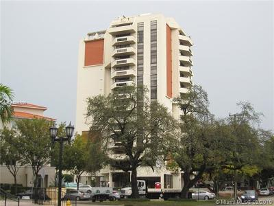 Coral Gables Condo/Townhouse For Sale: 911 E Ponce De Leon Blvd #1503