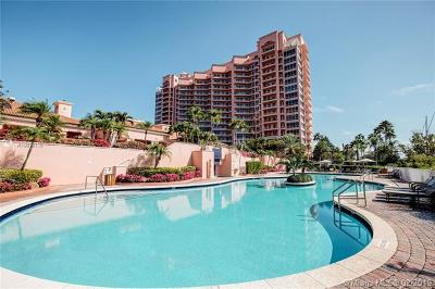 Coral Gables Condo/Townhouse For Sale: 10 Edgewater Dr #7F