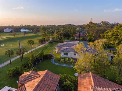 Coral Gables Single Family Home For Sale: 4110 University Dr