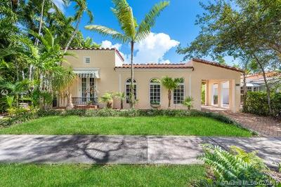 Coral Gables Single Family Home For Sale: 1213 Alberca St