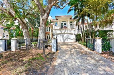 Coconut Grove Single Family Home For Sale: 4073 Battersea Rd