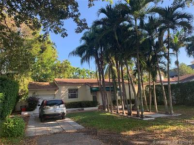 Coral Gables Single Family Home For Sale: 423 Blue Rd