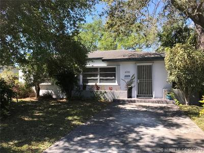 South Miami Single Family Home For Sale: 6500 SW 64th Ave