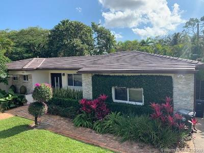 South Miami Single Family Home For Sale: 6250 SW 44th St