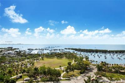 Coconut Grove Condo/Townhouse For Sale: 3400 SW 27th Ave #1503