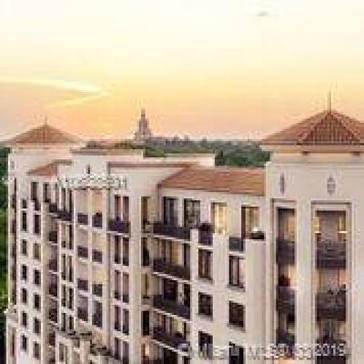 Coral Gables Condo/Townhouse For Sale: 301 Altara #305