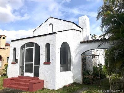 Coral Gables Single Family Home For Sale: 1215 Algeria Ave