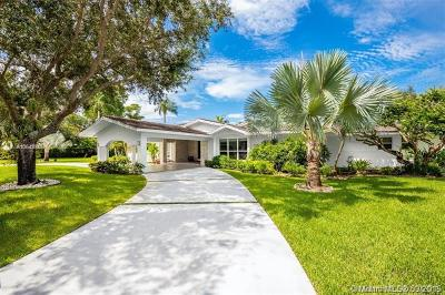 Pinecrest Single Family Home For Sale: 13150 SW 69th Ave