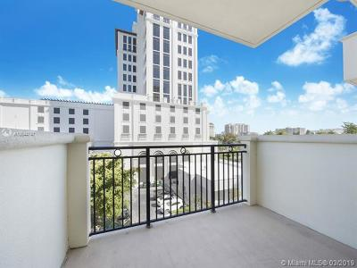 Coral Gables Condo/Townhouse For Sale: 1300 Ponce De Leon Blvd #401