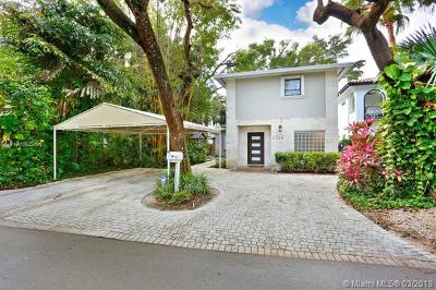Coconut Grove Single Family Home For Sale: 4046 El Prado Blvd