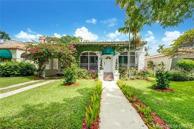 Coral Gables Single Family Home For Sale: 529 Majorca Ave