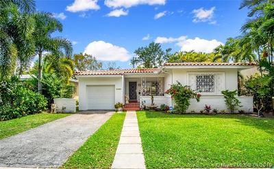 Coral Gables Single Family Home For Sale: 1105 Wallace St