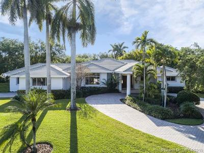 Pinecrest FL Single Family Home For Sale: $1,800,000