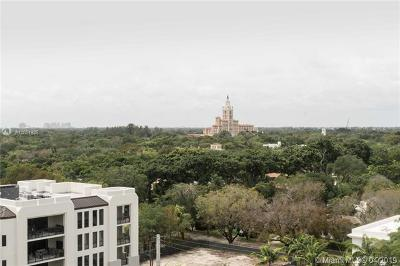 Coral Gables Condo/Townhouse For Sale: 700 Biltmore Way #1007