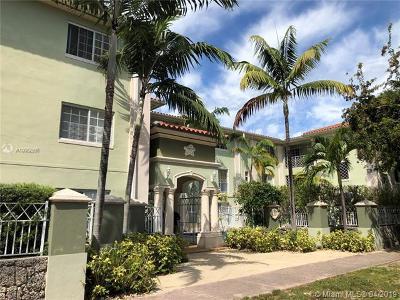 Coral Gables Condo/Townhouse For Sale: 45 Antilla Ave #2K