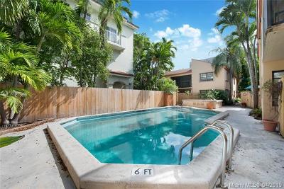 Coconut Grove Condo/Townhouse For Sale: 2987 Bird Ave #2