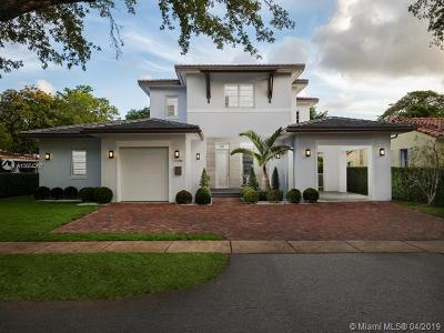 Coral Gables Single Family Home For Sale: 432 Madeira Ave