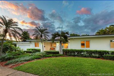 Coral Gables Single Family Home For Sale: 525 Marmore Ave