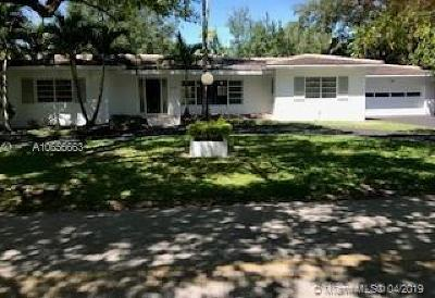 Coral Gables Single Family Home For Sale: 4210 Anderson Rd
