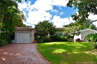 Coral Gables Single Family Home For Sale: 615 Jeronimo Dr