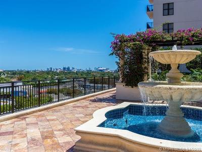Coral Gables Condo/Townhouse For Sale: 888 S Douglas Rd #811