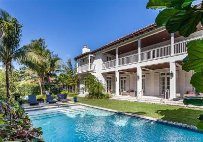 Coral Gables Single Family Home For Sale: 1200 Cartagena Ave