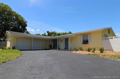Pinecrest Single Family Home For Sale: 7381 SW 116th St