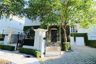 Pinecrest Condo/Townhouse For Sale: 10105 SW 75th Pl