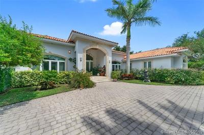 Pinecrest Single Family Home For Sale: 5801 SW 102nd St