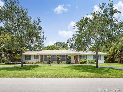 Pinecrest Single Family Home For Sale: 7605 SW 133rd St