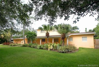 Pinecrest Single Family Home For Sale: 12705 SW 67th Ct
