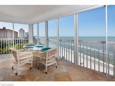 Condo/Townhouse Sold: 9051 Gulfshore Dr #801