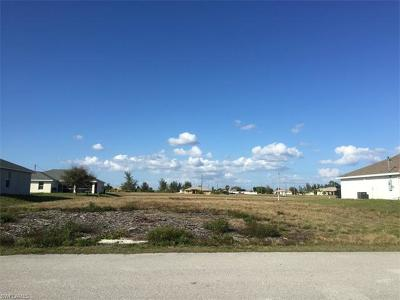 Lee County Residential Lots & Land For Sale: 111 NE 15th Ter