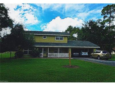 Collier County Single Family Home For Sale: 3790 27th Ave SW