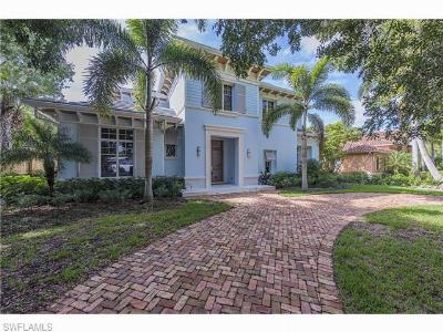 Naples Single Family Home For Sale: 610 6th Ave N