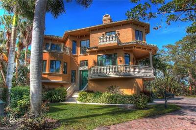 Bonita Springs, Fort Myers Beach Single Family Home For Sale: 27501 Harbor Cove Ct