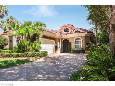 Villa La Palma At Bay Colony Single Family Home Sold: 8781 La Palma Ln