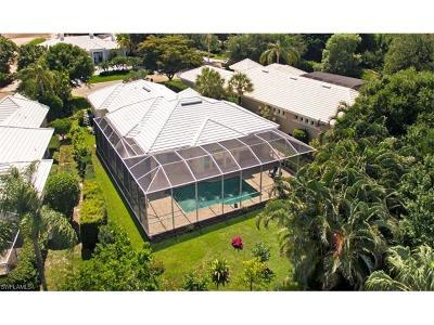 Naples Single Family Home For Sale: 803 Ashburton Dr