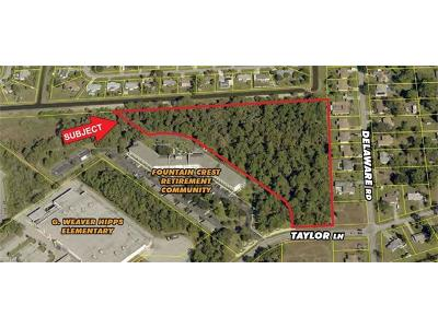 Lehigh Acres Residential Lots & Land For Sale: 1210 Taylor Ln