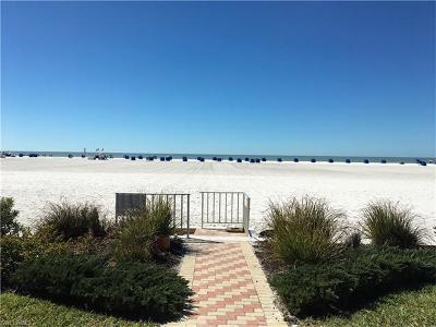 Fort Myers Beach Condo/Townhouse For Sale: 6500 Estero Blvd #G204