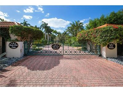 Naples Single Family Home For Sale: 2030 Gordon Dr